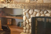 Reclaimed Wood Fireplace / by Reclaimed Wood, Inc.