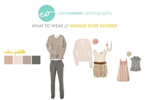 What to wear- family photos / by Amy Solomon