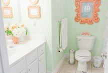 Bathroom makeover / by Rachel Lovelace