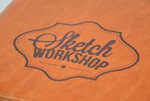 Sketch Workshop / The Sketch Workshop incorporates a luxury leather-style folder that can securely hold a workbook and up to 20 quality drawing tools. It's an innovative and fun way for people of all ages to find the inspiration to pick up a pencil - and draw! / by 3DTotal