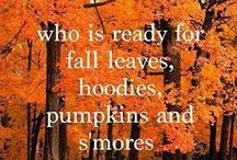 Fall, favorite time of year :) / by Jenna Field