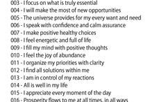 Affirmations / by Quintissa Peake