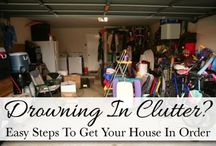 Decluttering don't be a hoarder! / by Amanda Skinner