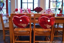 BNOTP: Valentine's Day Table Settings / by Between Naps On the Porch