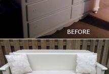 Recycle furniture / by Taresa Hendrickson