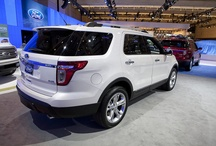 Ford Explorer  / An iconic, spacious, powerful, technologically savvy sports utility vehicle.  Re-establishing and reinventing itself in the SUV market.   / by Ford Canada