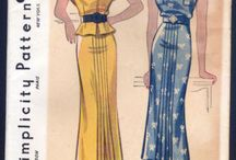 Vintage Sewing 1930s Patterns / by Linda Christie