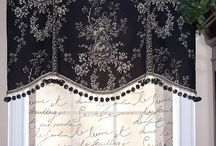 Window treatments / by Lisa Stone-Cleaver
