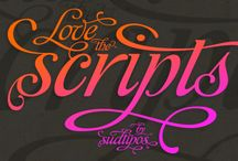Design | Fonts / by byMelissaBee (Melissa Martheze)