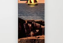 iPhone & Galaxy Cases / Custom iPhone and Galaxy Phone Cases / by Bill Tiepelman