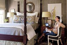 bedrooms / by Sheila Clark