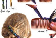 playing with my hair / by Carole Bogoniewski- Rosenhaus