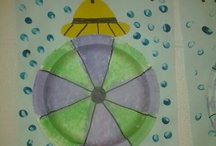 umbrellas / by Sandi @ rubber boots and elf shoes