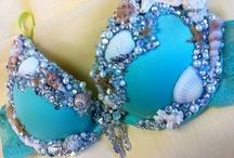 Mermaid attire ;) / by Jenni Vixen