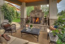 Outside Fireplace / by Jessica Gardner