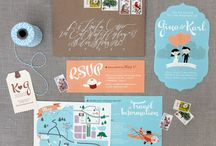 Design Inspiration - Graphic and Typography / by Christina Sizemore