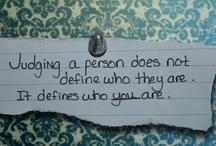 Quotes / by Morgan Davis