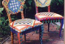 hand painted furniture / by Star (Deb) McMaster