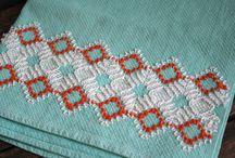 Huck Embroidery / by Marsha Burgener