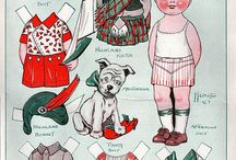 Paper Dolls / by Lena