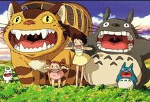 Hayao Miyazaki Films / My tribute to Hayao Miyazaki and his films / by Andrea Barton