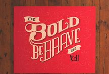 Bravely Be You / Mops 2014-15 inspiration / by Amy Moore Chinn