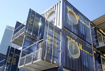 container homes / by Scarlett Scales-Tingas (Scarlett Scales Antiques)