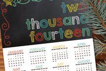 Free Printable Calendars / by Fab N' Free