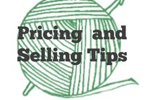 Selling Crochet: Pricing / Tips and tools for pricing your crochet (really any product) Tip: price for PROFIT not for a sale. #pricing #selling  / by Sara - Momwithahook