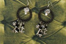 I love making jewerly / Dream Catcher Earrings / by Lucille Bettie