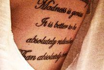 Tattoos / by Naomi Urueta
