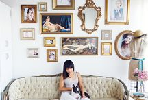 Arranging Art / Frames, gallery walls, etc... / by Brittany Andersen
