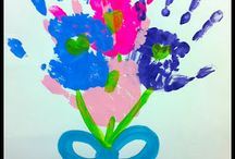 handprint flowers / by Teresa Townsell