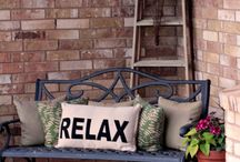 Front porch ideas / by Julie Wade