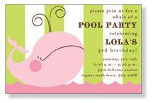 Birthday invite ideas / by Odette Wiggins