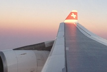 Swiss Flight in business class / by My Life's A Trip