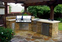 Outdoor kitchens  / by April Crutcher