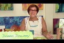 Donna Downey Video Series  / The fabulous Donna Downey will be taking on the Design Memory Craft line with her arsenal of tips and techniques.  Take a look at the videos below for beautiful, one-of-a-kind looks that you can easily use in your crafts.    / by Design Memory Craft