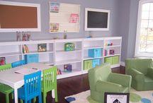 Homeschool Room / by Rebecca Wednesday