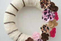 Wreaths!! / by Kendra Fultz