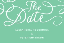 Save the Dates / Customizable Save the Date designs, part of MyPublisher's exclusive wedding cards + stationery collection. / by MyPublisher