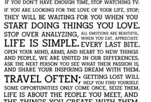 Inspiration & Wisdom / by Rachel Folkers-Loomis