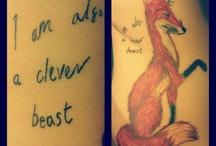 Tattoos / by Corey Sara