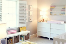 Baby room decor ideas / by Pink Energy Weddings