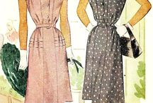Vintage Sewing 1940s Patterns / by Linda Christie