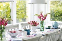 Table settings / by Eliza Bennett