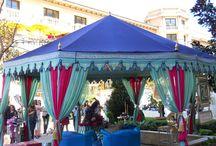 BLUE THEME TENTS / by Raj Tents