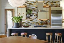 Home is where the heart is / Kitchen Designs to copy and improve on / by Samantha Magee