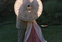 PARASOL-PARAPLUIE / Protection from sun and rain  / by Eleanor Doyle
