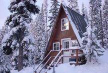 classic a-frame / by Leslie Wood